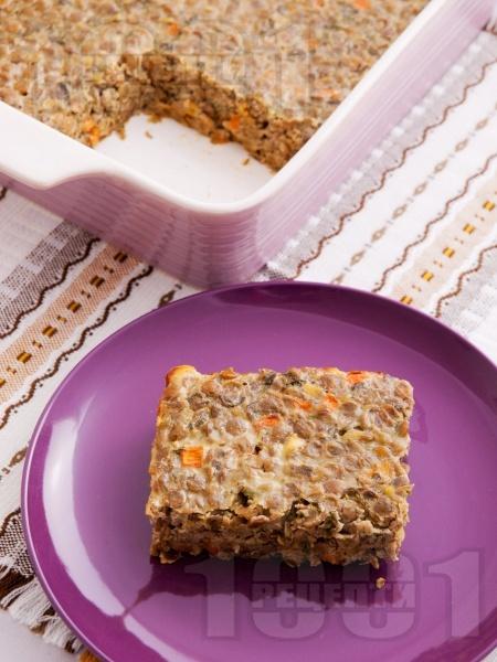 Леща на фурна със заливка от прясно мляко и яйца - снимка на рецептата